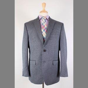 Ralph Lauren 41R Gray Sport Coat Y486